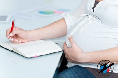 Уйти в декрет можно через тридцать недель беременности