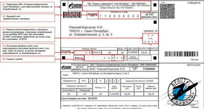 Узнать задолженность за газ в СПБ можно по телефону или в офисе Газпром